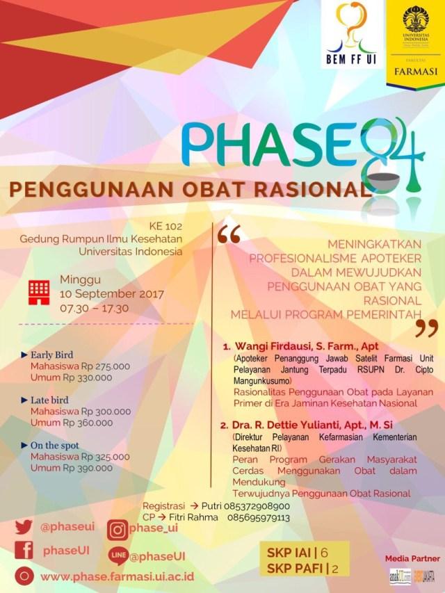 PHASE84 - workshop Penggunaan Obat Rasional (POR)