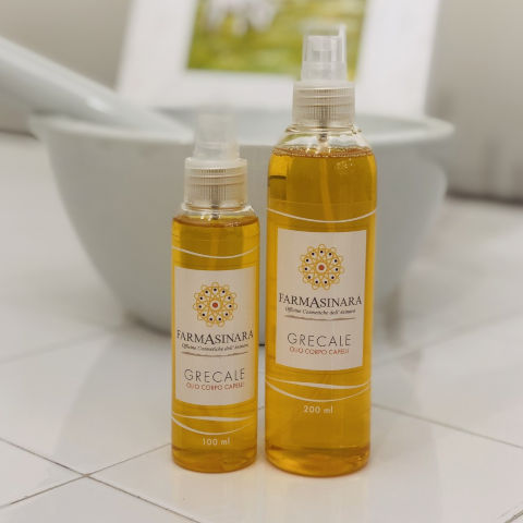 Grecale Line - Moisturizing Body Oil