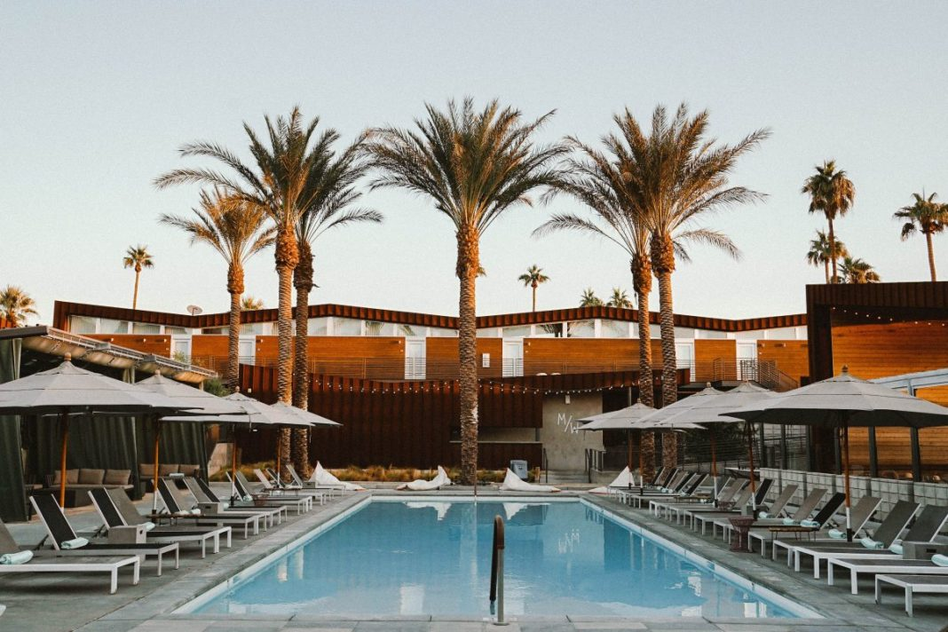 Staying at ARRIVE in Palm Springs,California