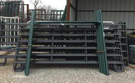 gates and panels at Farmer's Co-op