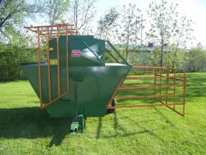 creep feeder for bulk feed