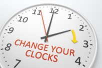 Daylight Saving Time 2020 starts March 8, 2020. Remember to spring forward one hour.