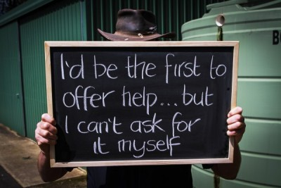 The Ripple Effect - I'd be the first to offer help... but I can't ask for it myself'