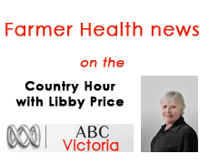 Farmer Health on the Country Hour ABC WV