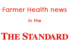 Farmer Health News in the Standard