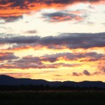 2O76 - Lorelle McShane - Ever changing sunset over the Leichardt Range
