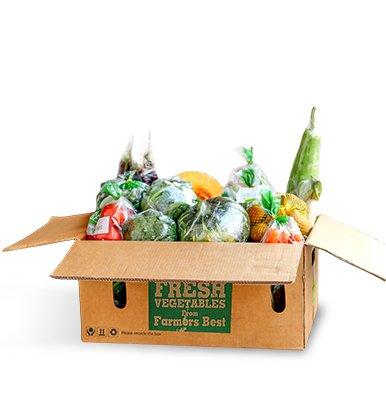 Set Mix Veggie Box 1