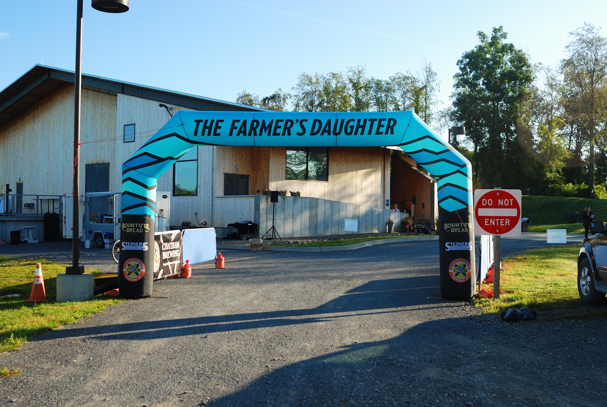 start at the Farmer's Daughter