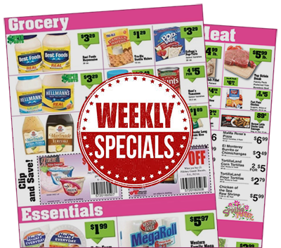 grocery store specials