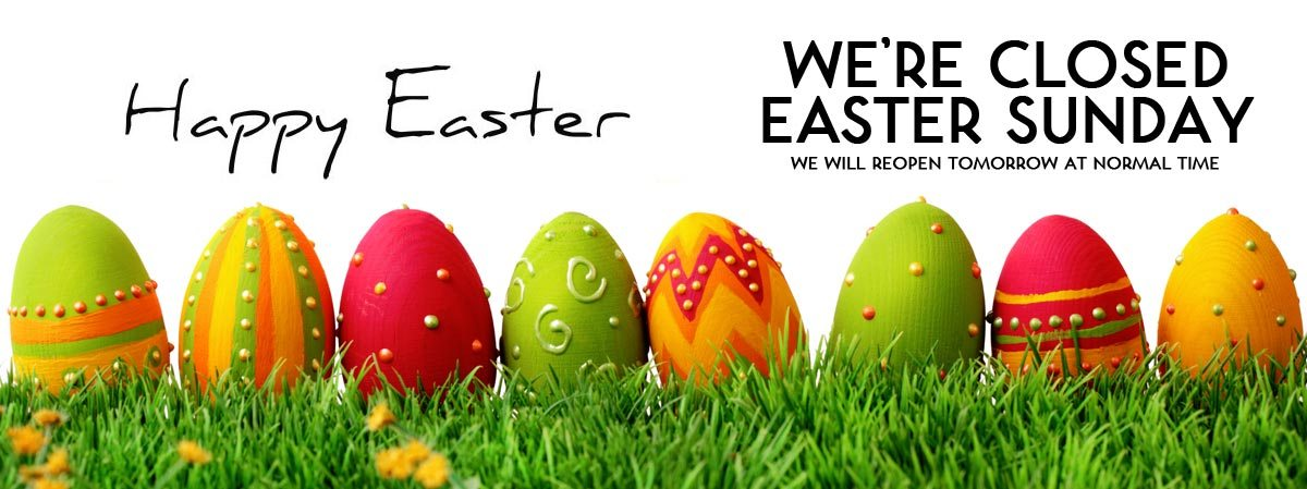 Easter Sunday, April 16th Farmers Fresh will be Closed