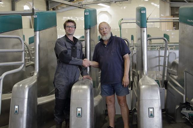 GEA installs the UK's first DairyProQ milking parlor at Worthy Farm, Glastonbury