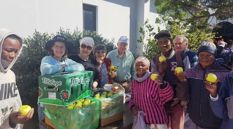 Tru-Cape supports Rotary's community health-screening days.