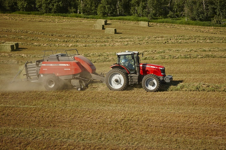 AGCO launches industry's first Class 8 large square baler at AGRITECHNICA
