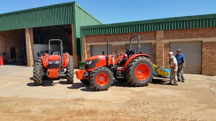 Kubota tractors sweeten production at Sierra Citrus