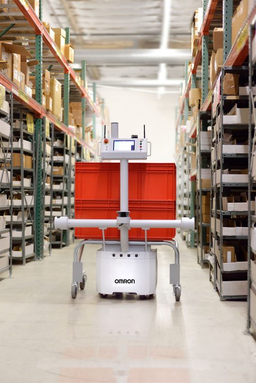 Autonomous food robots move with the times