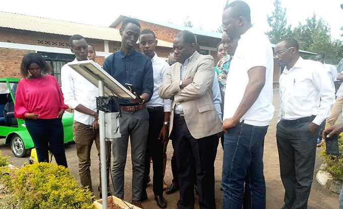 "Rwanda innovators come up with solar powered technology that enables ""hands free"" irrigation"