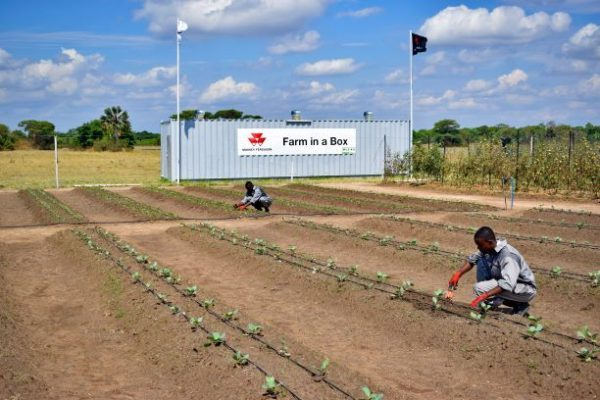 AGCO launches innovative Farm in a Box initiative for Africa Taking farm mechanization deep into rural communities
