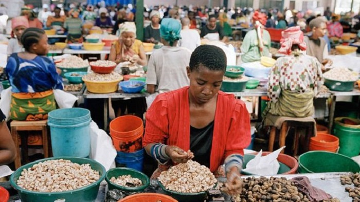 The Tanzanian government purchases US $183m in cashew nuts from farmers