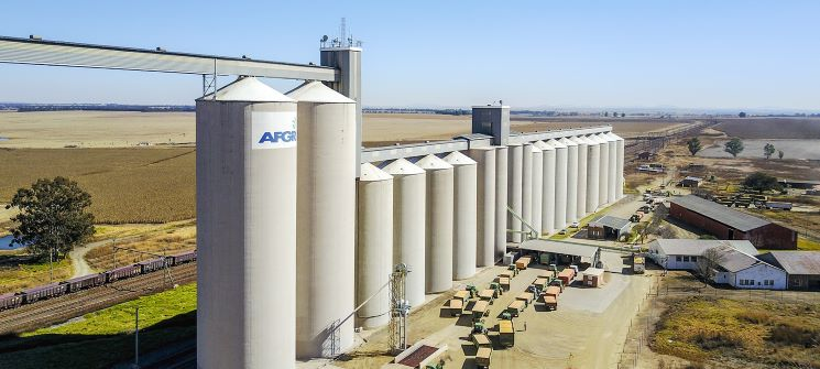 AFGRI Group Holdings and an investor consortium create a strategic grain storage platform