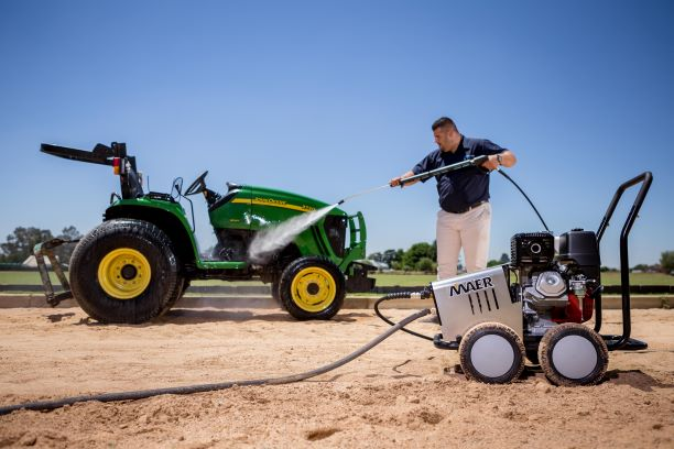 Maer high-pressure cleaners to headline GCE's exhibit at NAMPO