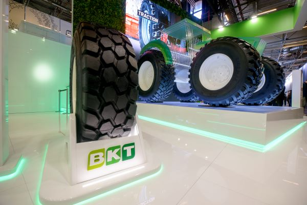 BKT breaks records at Agritechnica 2019