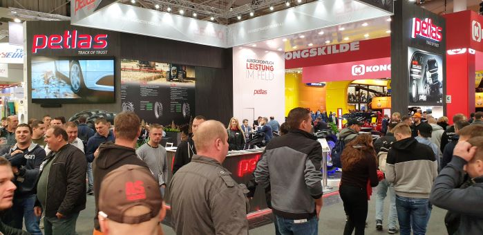 Petlas showcases its broad product range at the world's biggest Agriculture trade fair