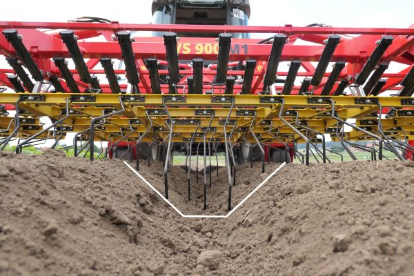 Mechanical Crop Care with the Tines Weeder AS from APV