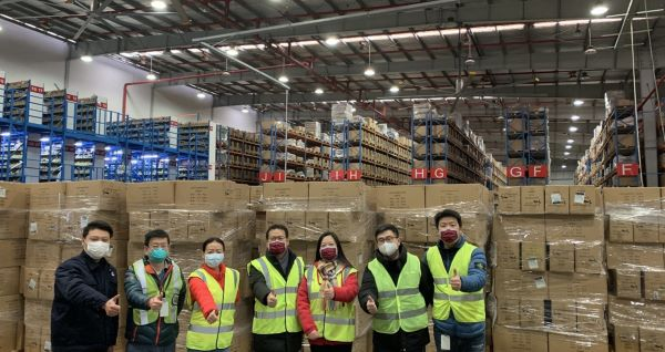 Coronavirus pandemic: Global teamwork procures masks for Cummins employees in China