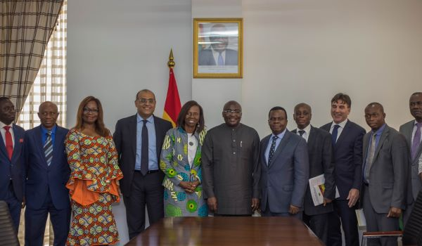 """You have been in the trenches with us,"" Ghana Vice President Mahamudu Bawumia tells African Development Bank"