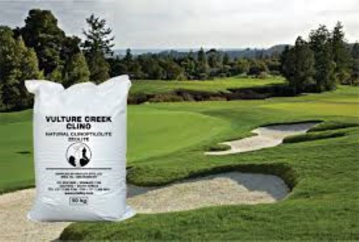 Vulture Creek Clino- Pratley's space age mineral for all your golf course and garden soil needs