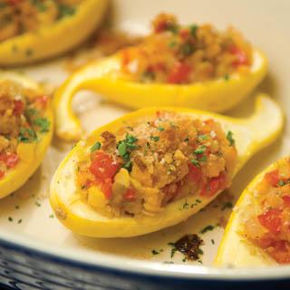 GardenStuffed Yellow Squash Recipe Farm Flavor