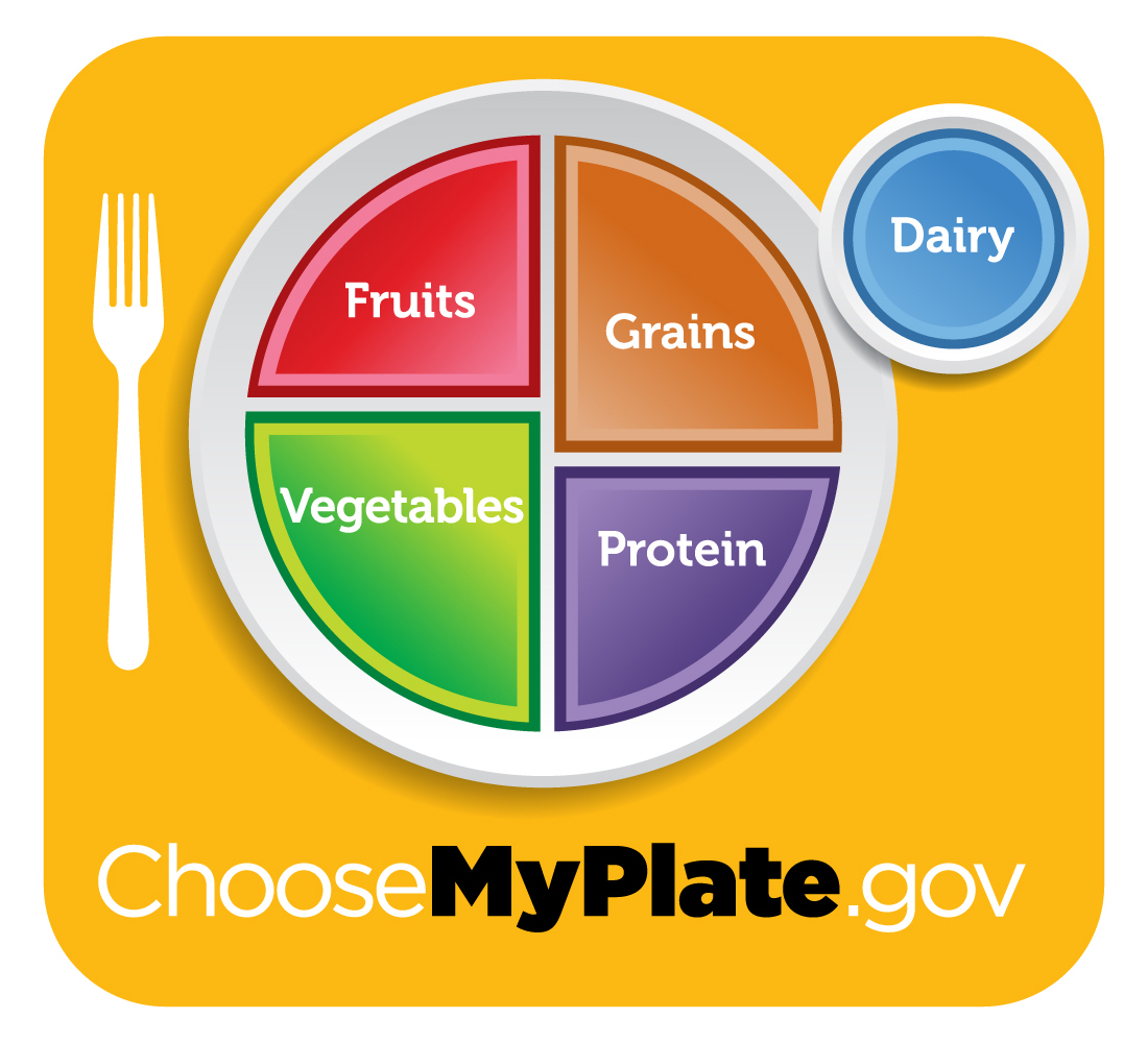 New Food Pyramid Called Myplate Dishes Ontary