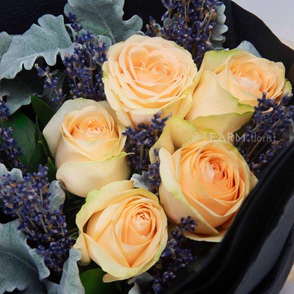 Magdeline Bouquet by Farm Florist Singapore Close Up