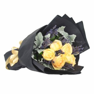 Magdeline Bouquet by Farm Florist Singapore Lying