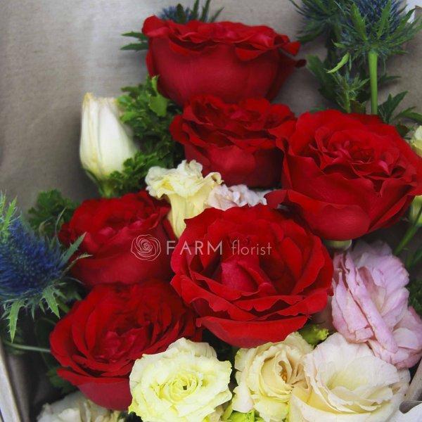 Sasha Bouquet by Farm Florist Singapore Close Up