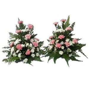 Altar Arrangement Condolence Flower by FARM Florist