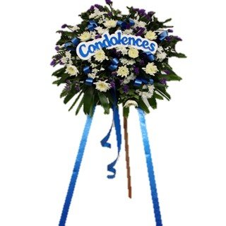 Basic Condolence Flower Stand
