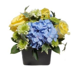 Brie hydrangea floral arrangement