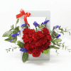 Mothers Love Carnation Bloom Box by FARM Florist Singapore