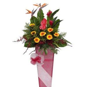 Noel Congratulatory Flower Stand Singapore