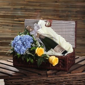 duval leroy wine gift basket