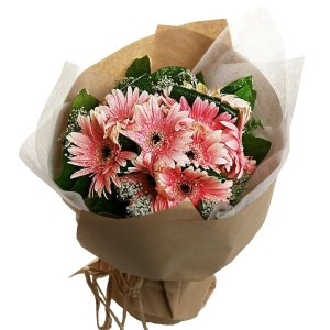 Gayle Gebera bouquet by farm florist singapore