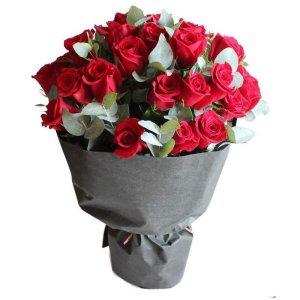 erika rose bouquet by farm florist