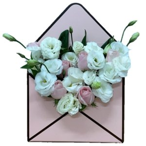 Keira Envelope Box by FARM Florist