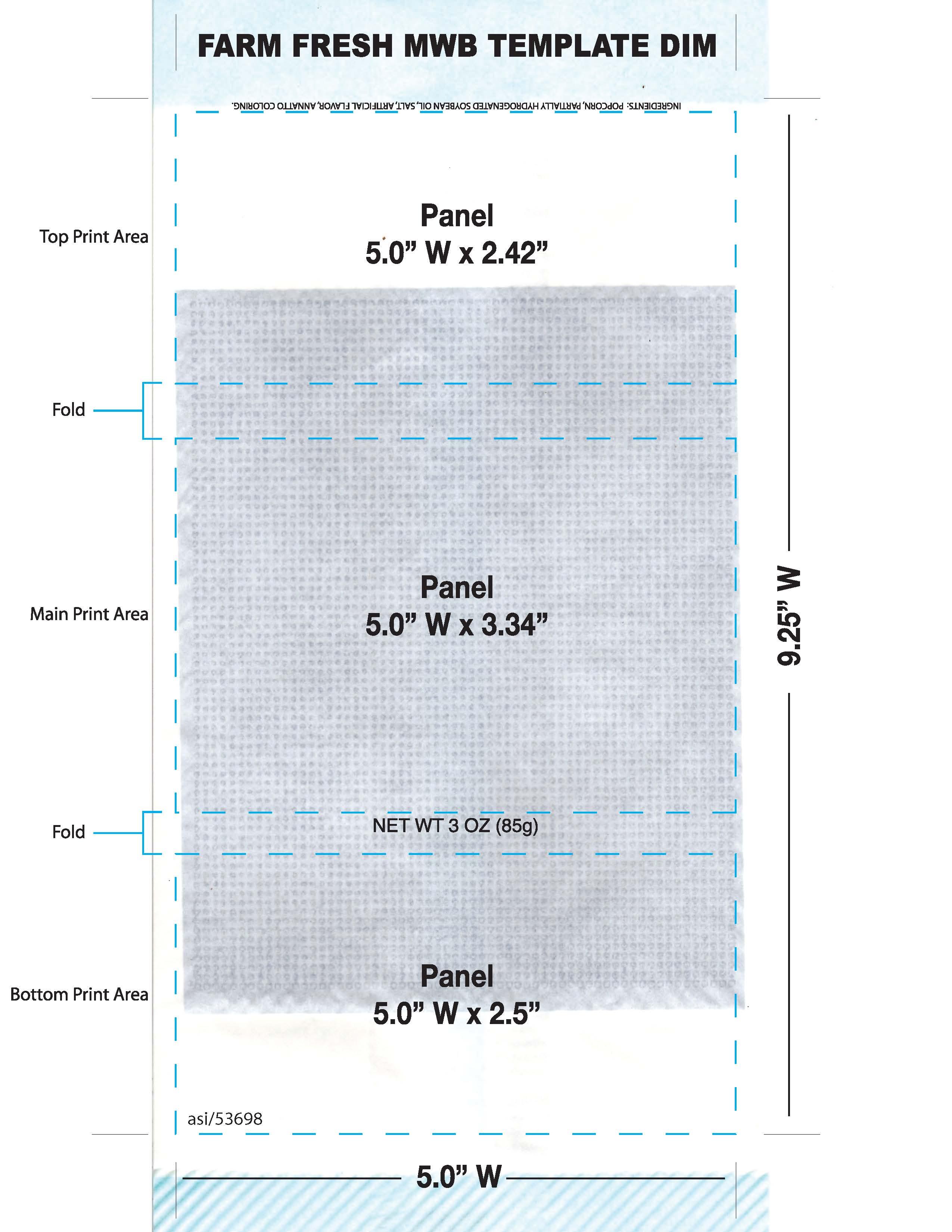 custom print microwave bags farm
