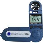 Ambient-Weather-WM-4-Handheld-Weather-Station-w-Windspeed-Direction-Temperature-Humidity-Compass-Dew-Point-Comfort-Index-Psychrometer-0-0