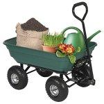 Best-Choice-Products-650LB-Garden-Dump-Cart-Wheelbarrel-Wagon-Carrier-Air-Tires-Heavy-Duty-0-0