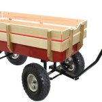 Big-Roc-Tools-Wagon-With-Wooden-Sides-Capacity-200-Lbs-0