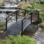 Black-Metal-Danbury-Garden-Bridge-8-ft-Double-Arched-Rails-and-a-Classic-Slatted-Walking-Surface-93L-x-28W-x-29H-in-Assembly-is-Required-0-0