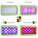 Global-Star-Gsg50x6w-Plus-Horticulture-Full-Spectrum-300w-Green-LED-Grow-Light-for-Indoor-Plant-Growingone-Switch-for-Leafanother-for-Flowering-Green-0-1
